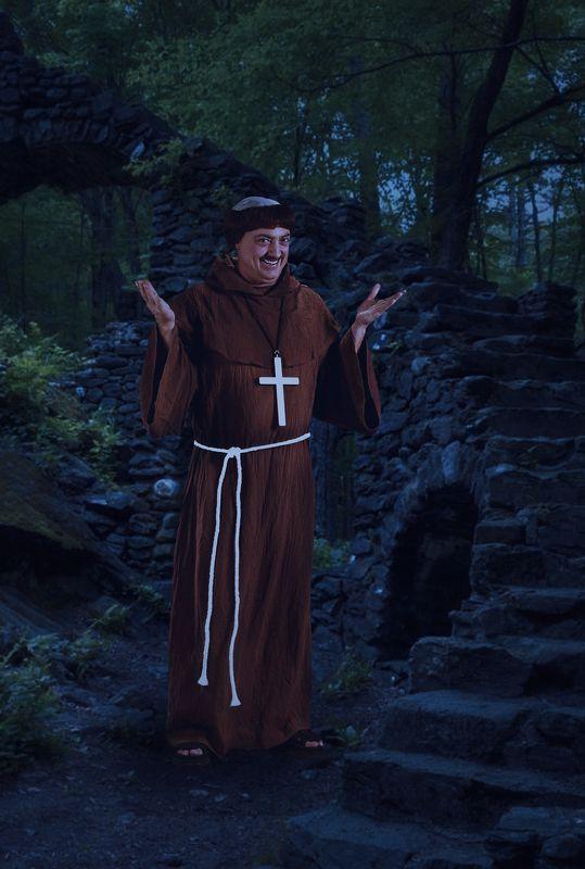 монах, крепость Веселый монахphoto preview