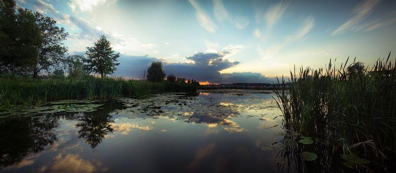 васильков васильків стугна Летний вечерphoto preview
