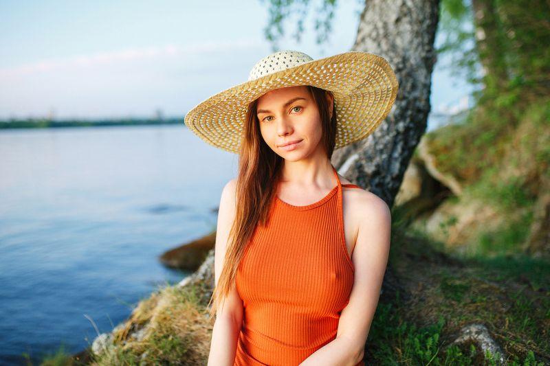 portrait woman nature Ольгаphoto preview