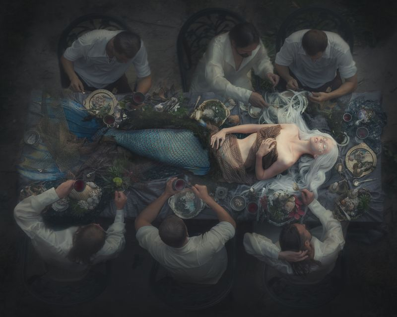 русалка,  mermaid, победитель,  winner Аллегорияphoto preview