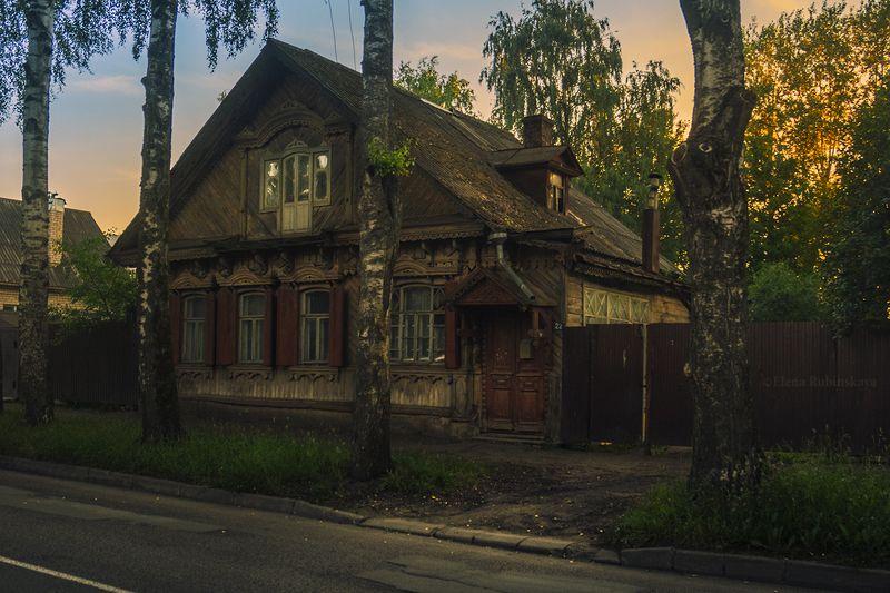 кострома, город, архитектура, деревянные дома,улица Улицы моего детства фото превью