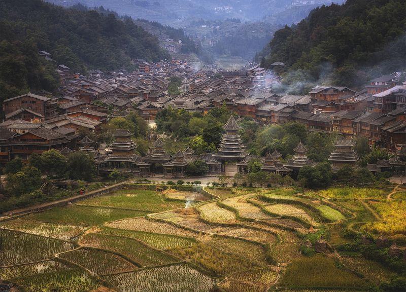 village, china, деревня, китай Деревня Zhaoxing Dongphoto preview