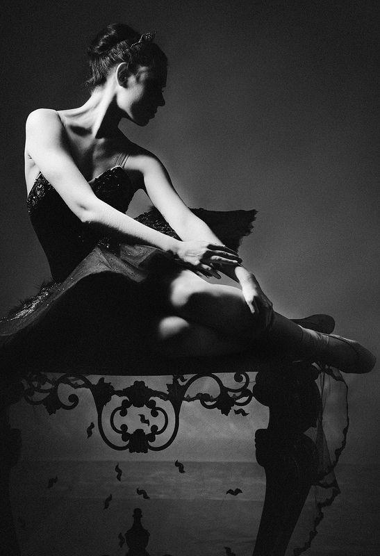 портрет, постановочная фотография, романтизм, женский портрет, фотостудия, свет, живописная, высокое искусство, без фотошопаретро, Портрет балериныphoto preview