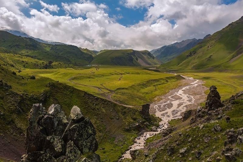 горы,восхождение,кавказ,облака,эльбрус дорогами Джилысу...photo preview