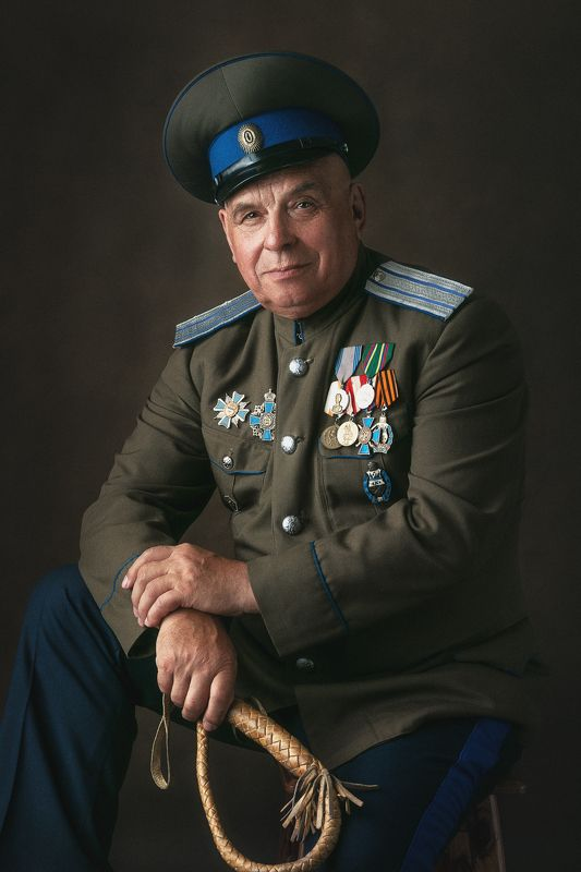 cossack, мужской портрет, студийный портрет, казак Cossackphoto preview