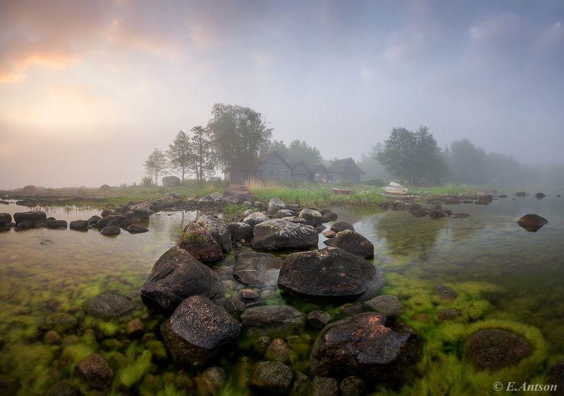 пейзаж, природа, лето, море Свежесть летнего утра фото превью