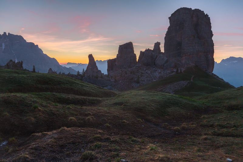 италия, доломиты, горы, облака, восход, природа, landscape, italy, dolomites, golden hour, golden light, sunrise До восхода...photo preview