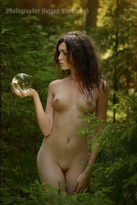 девушка лес Лесная песнь Мавкаphoto preview