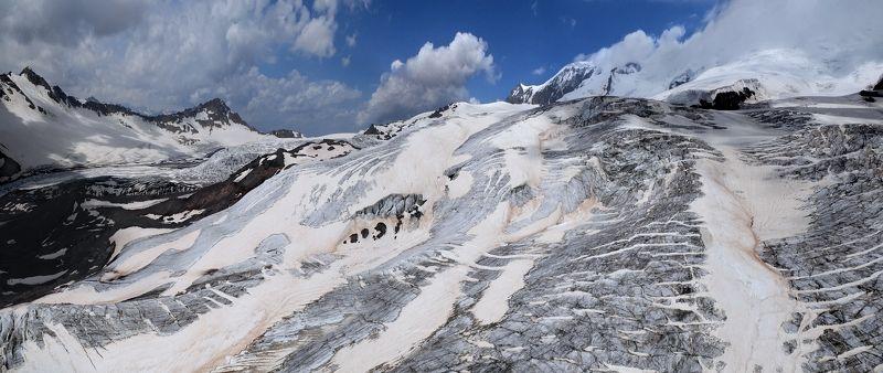 Ледник Большой Азау аэросъёмкаphoto preview
