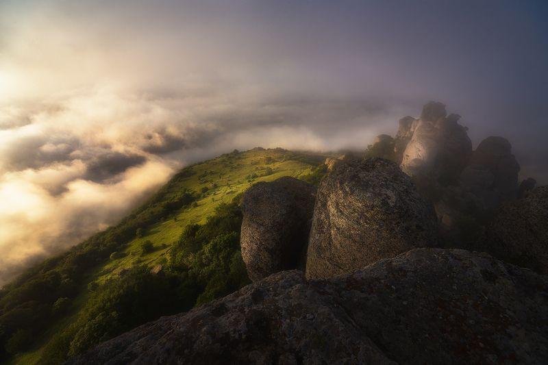 крым, демерджи, аленга Замок над облаками фото превью