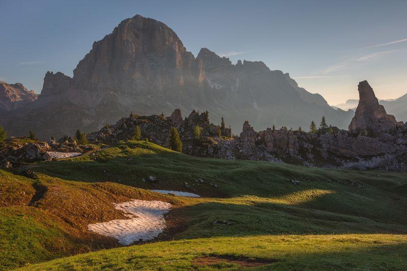 италия, доломиты, горы, восход, лето, природа, landscape, italy, dolomites, golden hour, golden light, sunrise Доломиты.photo preview