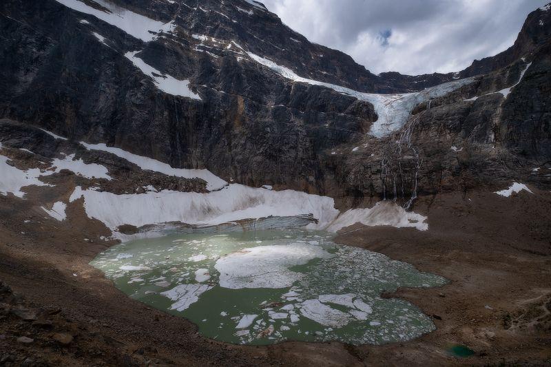 canada, rockies, glacier, jasper, ice, edith_cavel ТАЛЫЙphoto preview