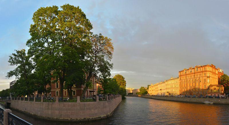 новая голландия, санут-петербург, закат Голландским вечеромphoto preview
