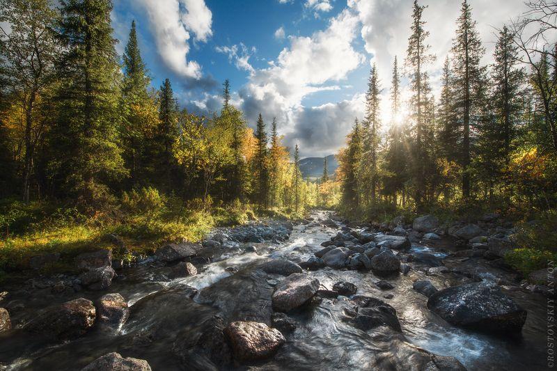 Осень, река, горы, фототур, Хибины, кольский, полуостров Осень в Хибинах | фототур в Хибиныphoto preview