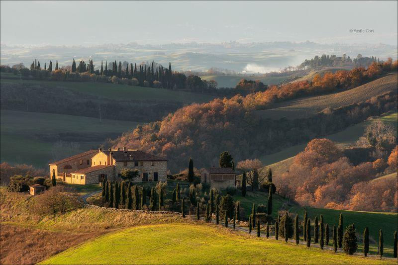 italy,асчиано,italia,свет,пейзаж,тени,италия,тоскана,кипарисы,toscana,зима,tuscany,cipressi,аsciano,crete senesi,пейзажи тосканы Crete Senesi...photo preview