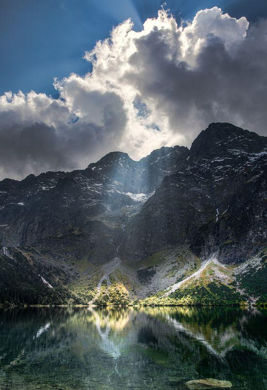 Tatra mountains, Morskie Oko lake, Polandphoto preview