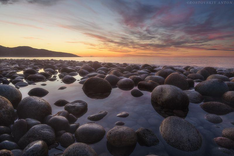 Закат, Териберка, Кольский, полуостров, фототур,  Северный закатphoto preview