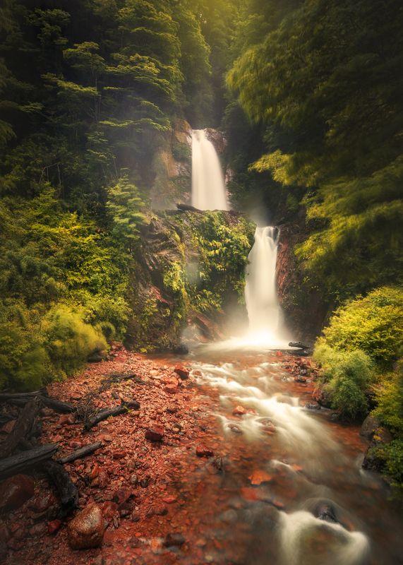 пейзаж, водопад, waterfall, landscape Your love is like waterfallphoto preview