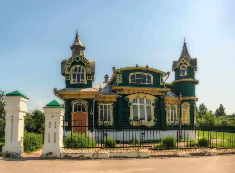 Гороховец - деревянные домаphoto preview