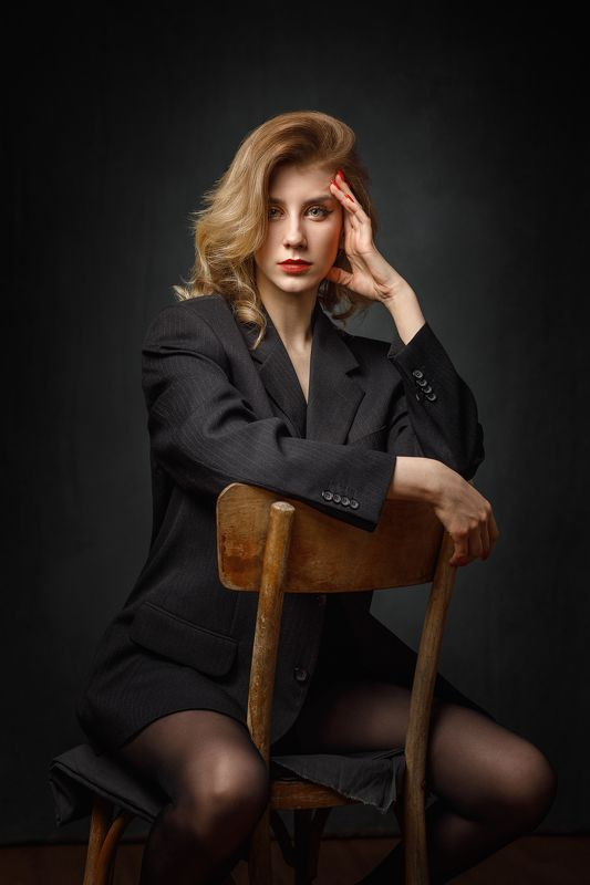 портрет, девушка Маринаphoto preview