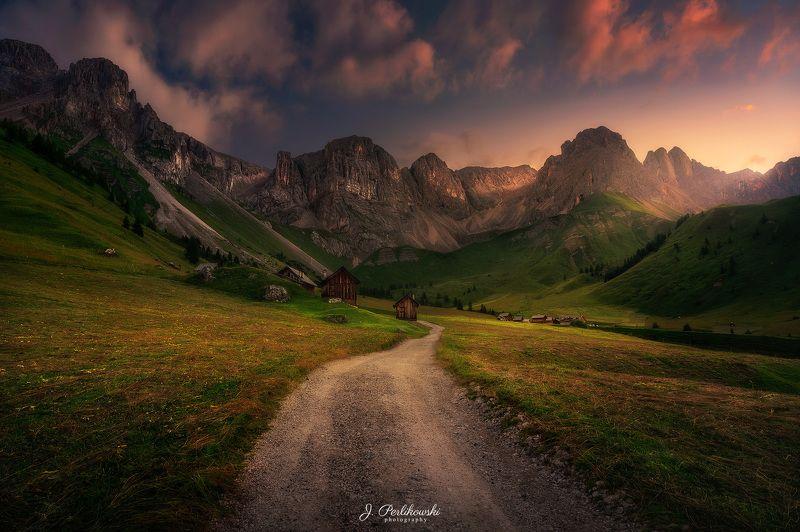 dolomites, alps, mountains, travel, Roadphoto preview