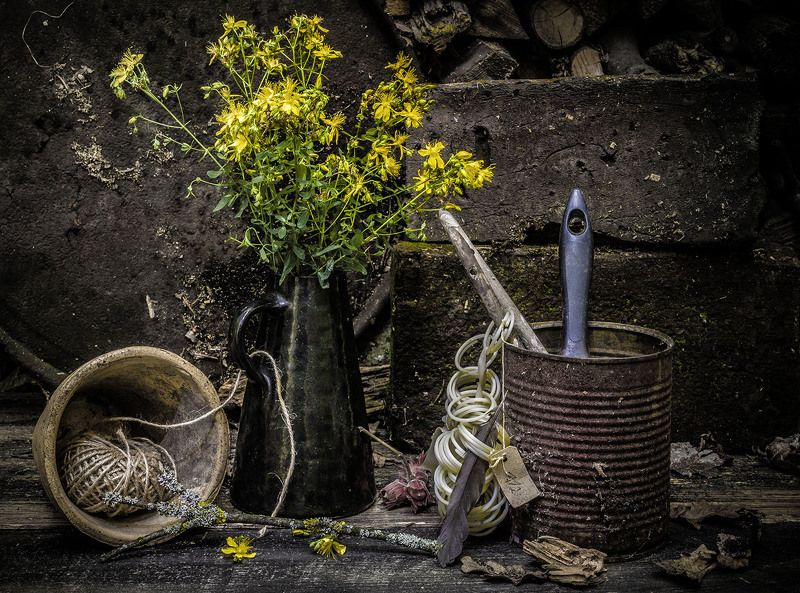 В саду.photo preview