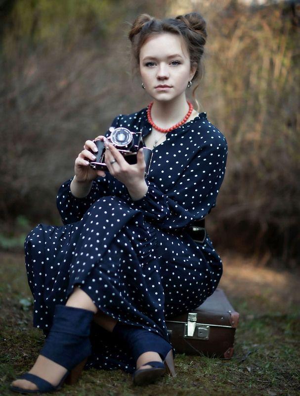 девушка, фотограф, ретро,стиль,фото, girl, photographer, retro, style,holiday, photos Девушка фотографphoto preview