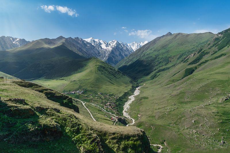горы, северная осетия, природа, лето, кавказ, пейзаж В горах Северной Осетииphoto preview
