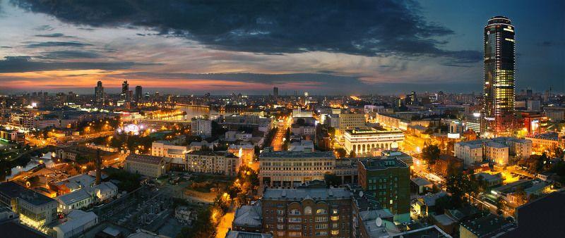 Город вечереетphoto preview