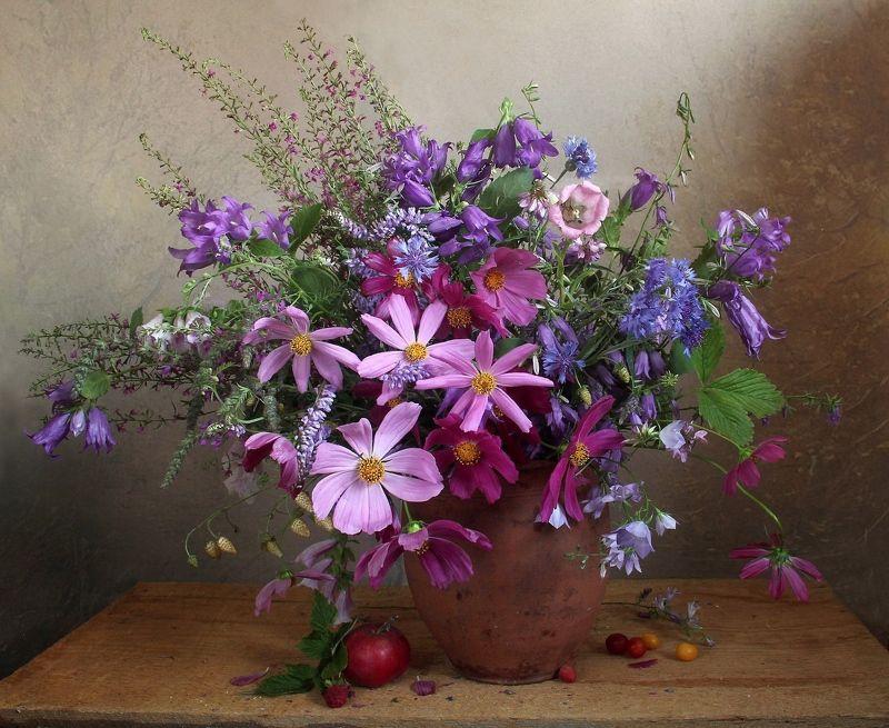 лето,  цветы, натюрморт, марина филатова Люблю цветы, их радужные краски...photo preview