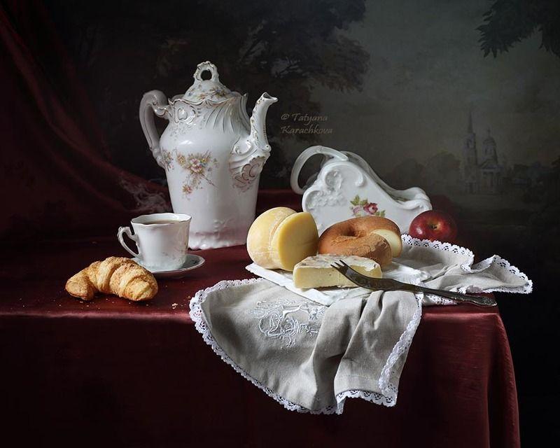 натюрморт, сыр, сырница, чайник, вино Сырный экзерсисphoto preview