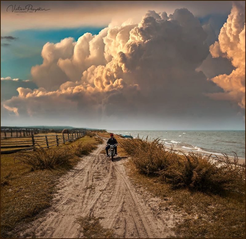 Отец ездил по берегу Байкала...photo preview