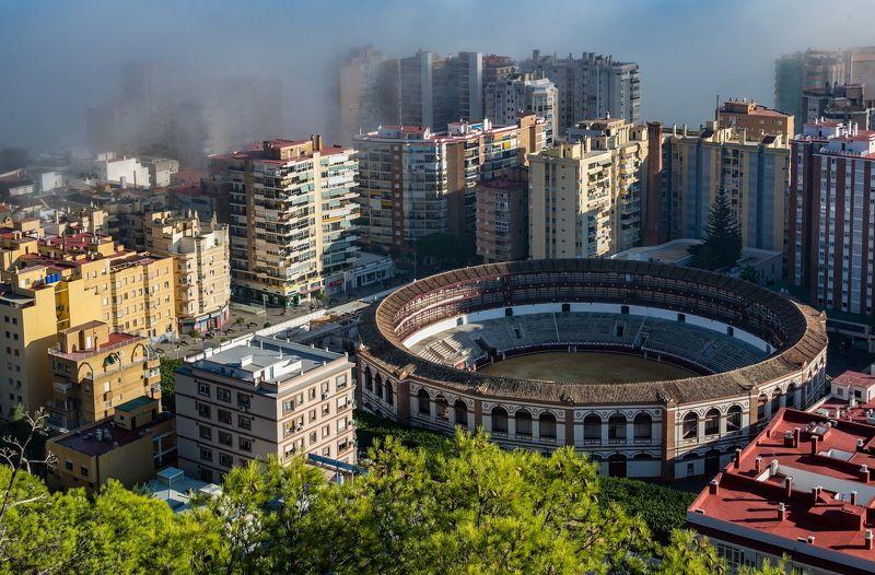 Туман наступает на городphoto preview