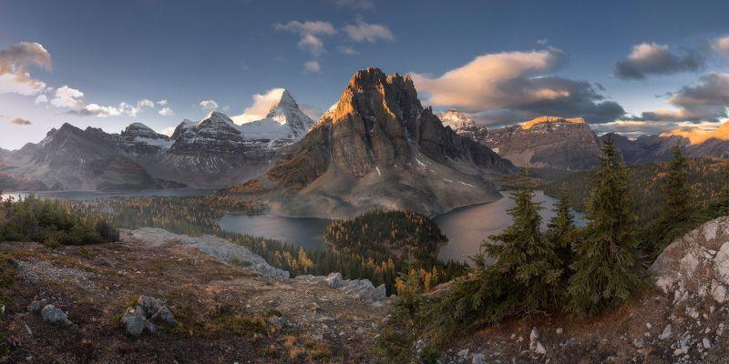 assiniboine, sunrise УТРЕННЕЕphoto preview