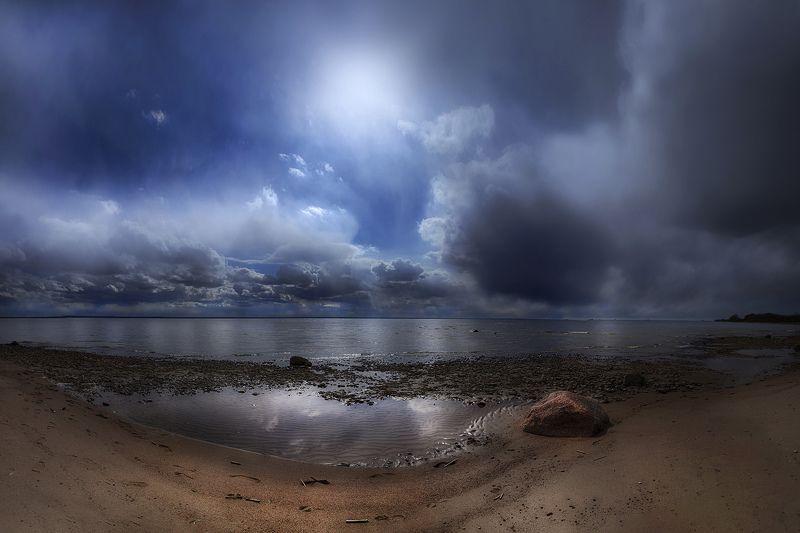 Контрасты  Финского залива...photo preview