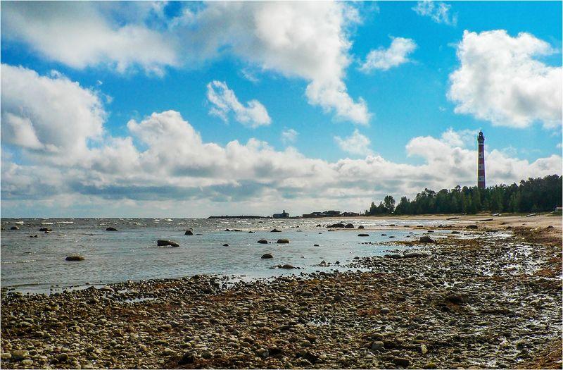 озеро, маяк, ладога Осиновецкий маякphoto preview