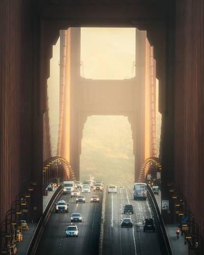Golden Gate at Golden Hour