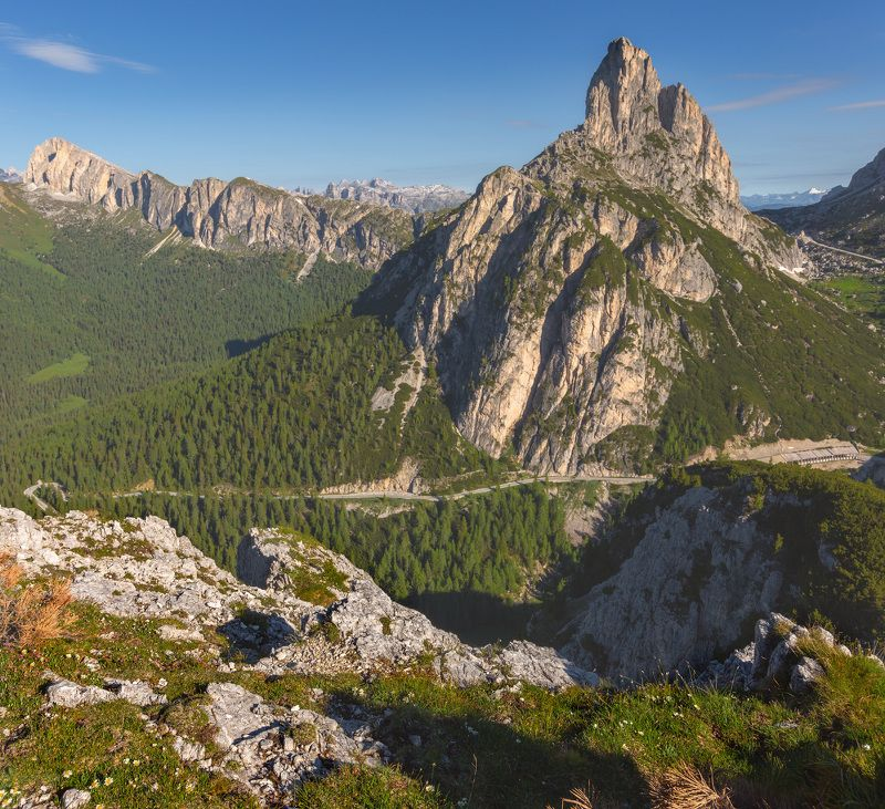 италия, доломиты, горы, облака, восход, природа, landscape, italy, dolomites, sunrise Солнце взошло.photo preview