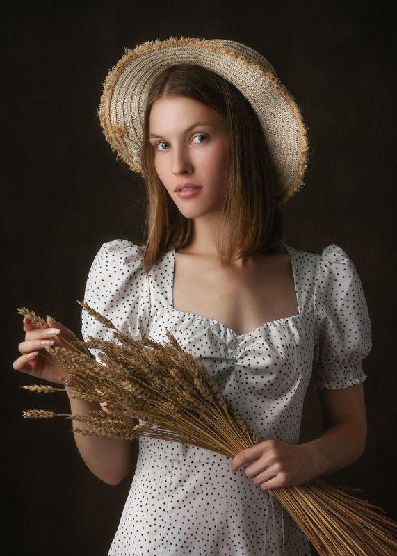 портрет, студия, артпортрет, модель Evelinaphoto preview