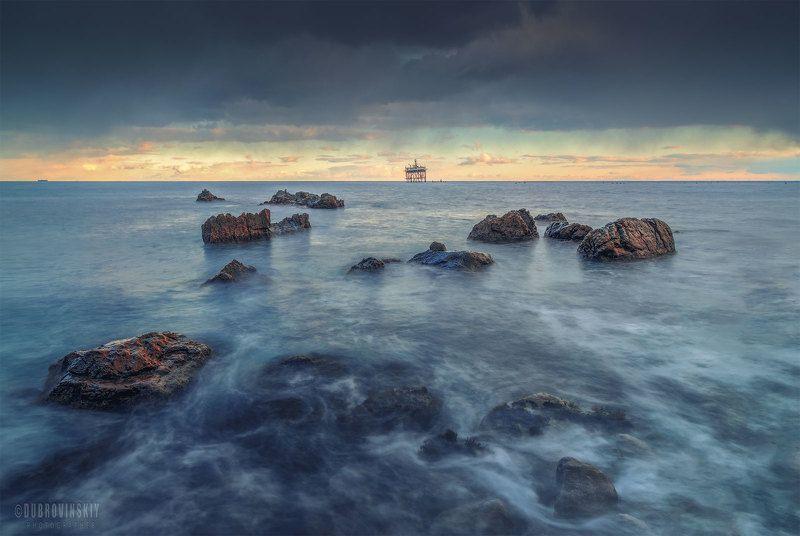 крым, море, зима, камни. ***photo preview