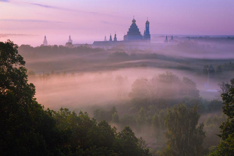 туман, храм, утро, подмосковье, истра По волнам времениphoto preview