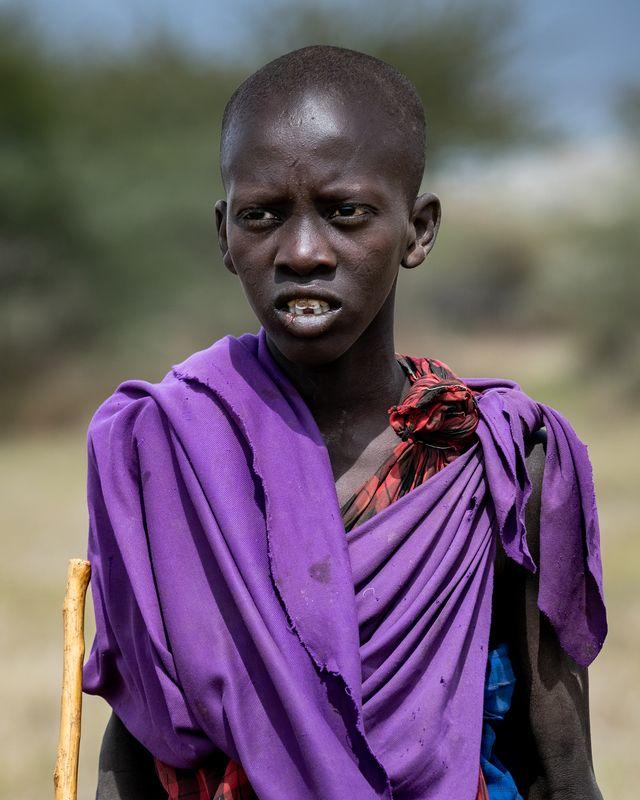 Młody Masaj z Tanzaniiphoto preview