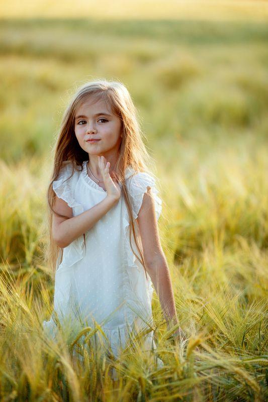детсво девочкавполе поле пшеница закат лето девочканазакате белоеплатье Детствоphoto preview