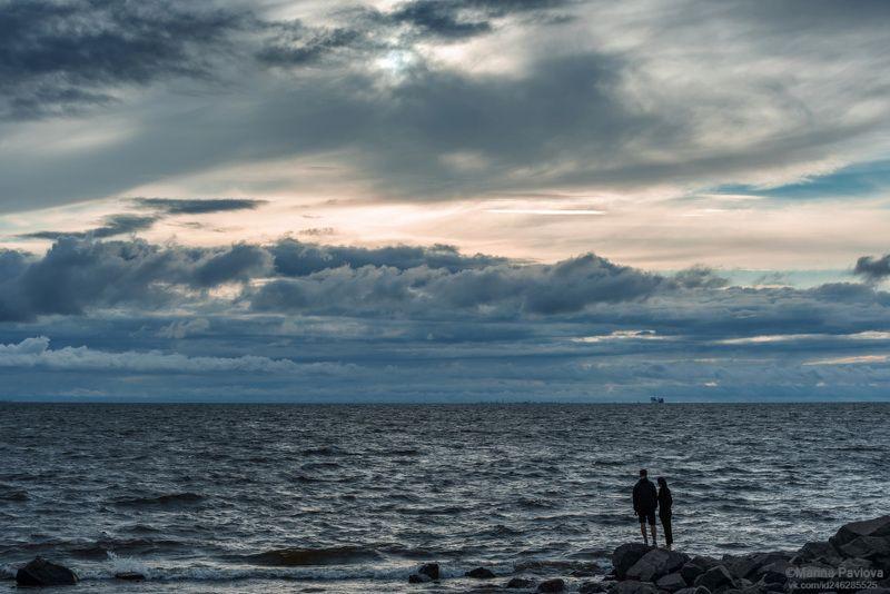 город, петербург, финский залив, море, морской пейзаж, лето в городе,nikon Созерцание...photo preview