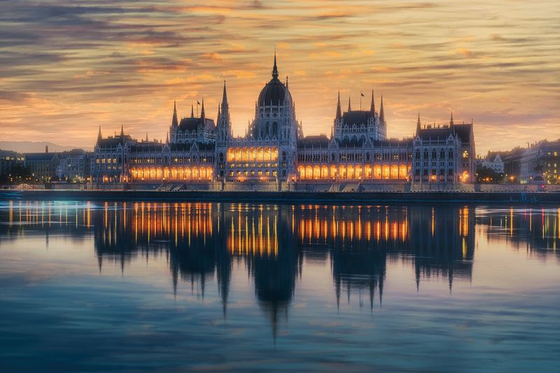 budapest, sunrise One way ticket to Europe, please! ;)photo preview