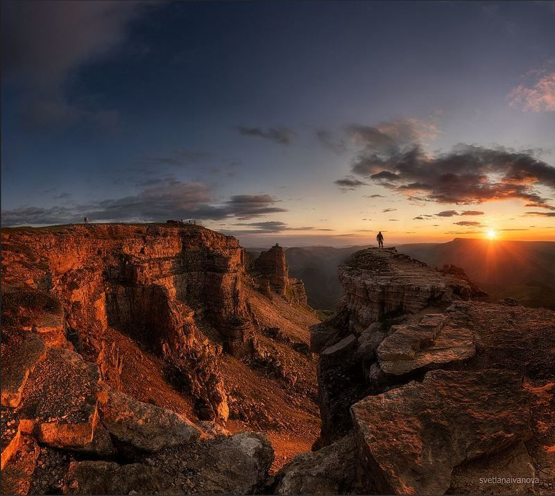 бермамыт, закат, горы, кавказ, эльбрус Марсианские хроники...photo preview