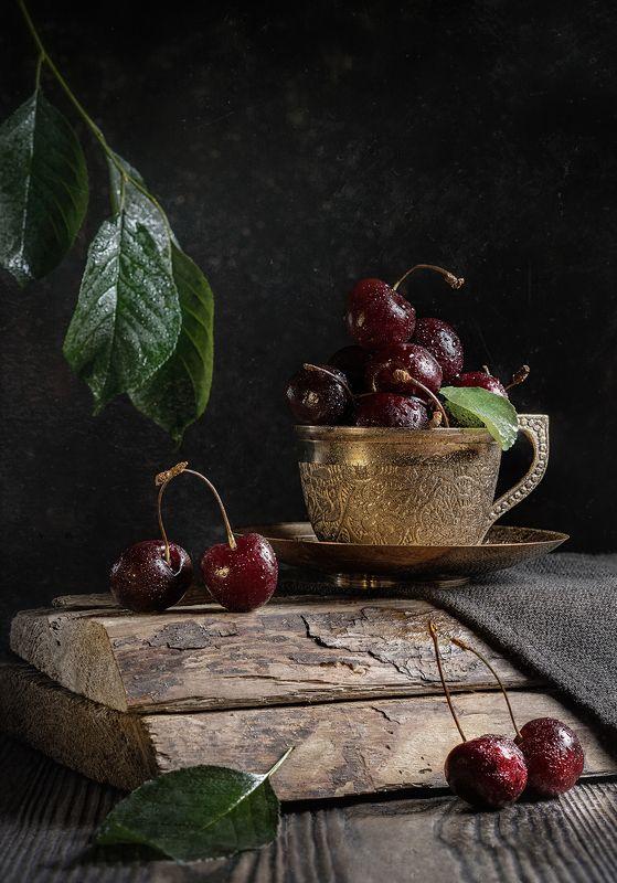 черешня, вишня, cherry, ягоды, лето, натюрморт, чашка, Спелые черешниphoto preview