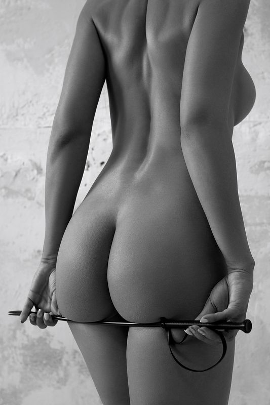 model, fine art, sexy, sensual, black and white, woman, female, body, erotica, glamour, curves, natural light, bdsm, ass, nude, naked, Bdsm 2.photo preview