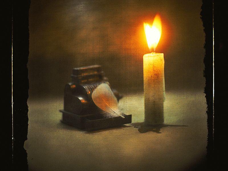 Пусть долго догорают судеб свечи...photo preview