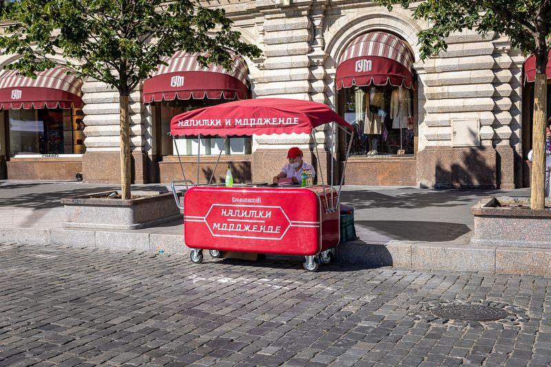 Ларек мороженого на Красной площадиphoto preview